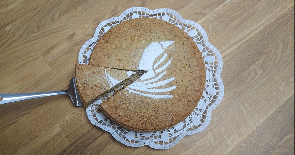 Das Buch. Der Kuchen. Wer will ein Stück?