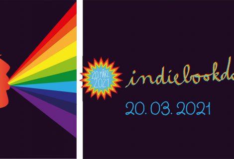 Indiebookday, 20. März 2021, Aktionstag der kleinen unabhängigen Verlage